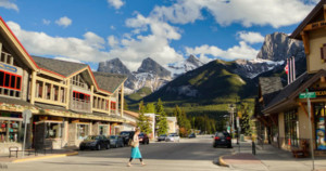 Canmore Downtown Tck