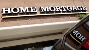 Mortgage Rates Sign