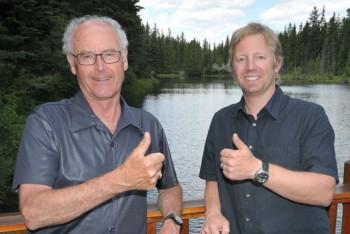 Team Photo of Jim Ridley & Jordy Shepherd